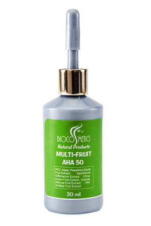 BIOCOSMETICS KWASY OWOCOWE AHA 50% - MULTI-FRUIT AHA 50 30 ML