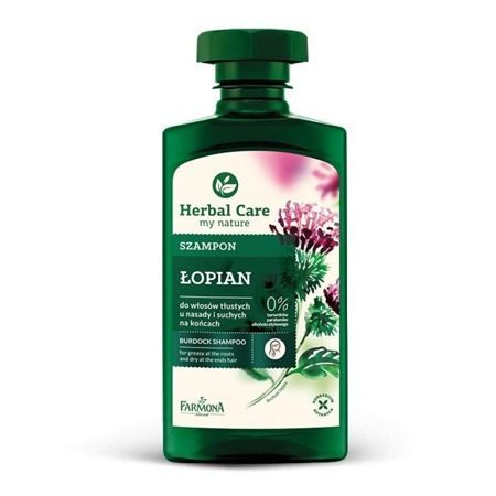 FARMONA HERBAL CARE SZAMPON ŁOPIAN