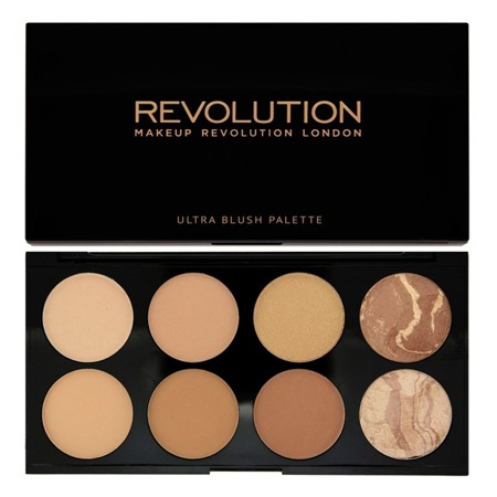 MAKEUP REVOLUTION ALL ABOUT BRONZE PALETA 8 BRONZERÓW