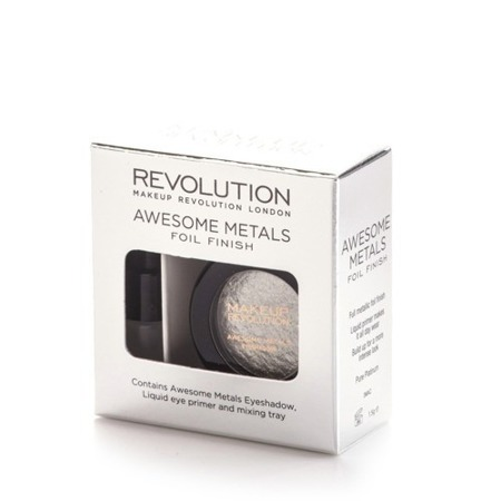 MAKEUP REVOLUTION CIEŃ FOLIOWY PURE PLATINUM