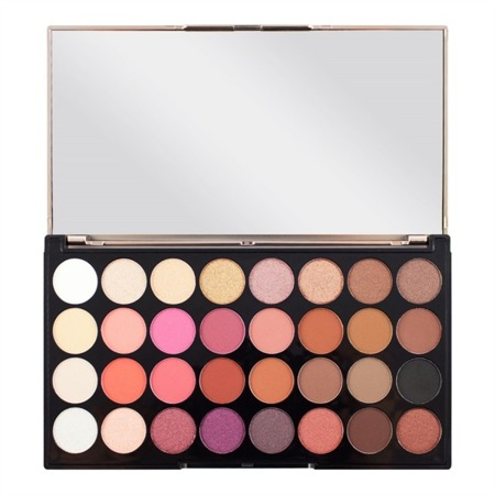 MAKEUP REVOLUTION FLAWLESS 4 PALETA 32 CIENI