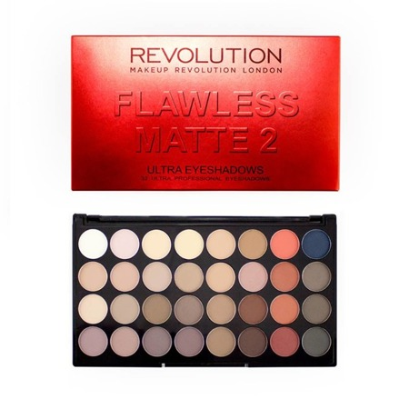 MAKEUP REVOLUTION FLAWLESS MATTE 2 PALETA 32 CIENI