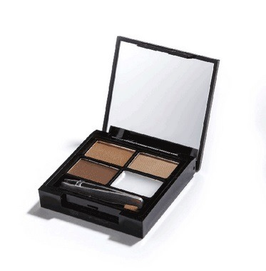 MAKEUP REVOLUTION ZESTAW DO BRWI MEDIUM DARK